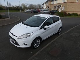 Ford Fiesta 1.25 Zetec 5dr, Petrol (2012) lady owner, low mileage, excellent condition