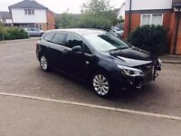 2012 Vauxhall Astra 2.0 16v Sport Salvage Damaged Repairable