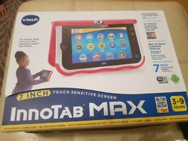 Immaculate pink innotab max in perfect box with team umizoomi game.