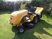 "ride on lawnmower JCB d20-50 Diesel 20hp 50"" deck inc collector / sweeper / roller"