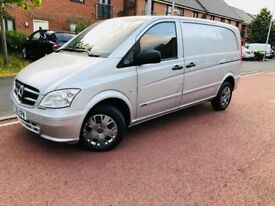 MERCEDES BENZ VITO 113 CDI SWB COMPACT NEW SHAPE 2013 175,000MLS FULL SERVICE HISTORY 2 KEYS