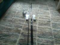 New spinning rod and reel