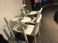 Glass Dining Table - FREE