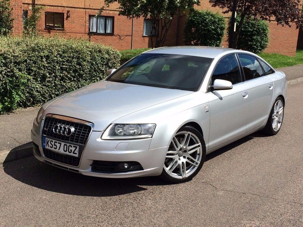 audi a6 le mans s line 2 7 tdi auto quattro 2008 silver in enfield london gumtree. Black Bedroom Furniture Sets. Home Design Ideas