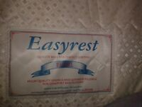 King Size Double Bed , mattress and divan base - CAN DELIVER