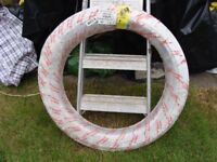 50 ROLL OF 15mm Hep2O BARRIER PIPE.. WHITE