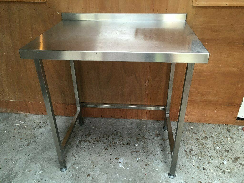 Stainless Steel Kitchen Work Prep Table With Undercounter