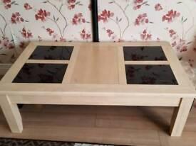 Cofffee table + side table