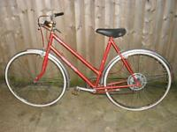 vintage viscount metro 5 ladies bike