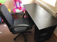 Table desk and Chair