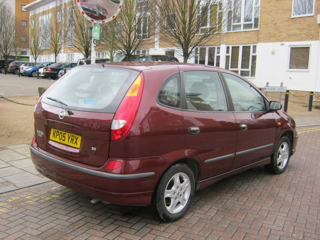 2005 nissan almera tino 1.8 se manual, 5 door, 2 owner, 63k f