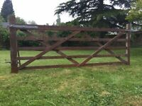 5 Bar Wooden Gate.