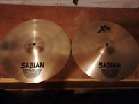 Sabian XS 20 Hi Hats in excellent condition