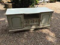 Solid Pine 2 Door 4 Draw Sideboard - Excellent Condition