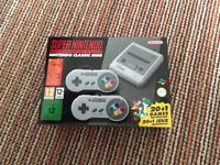 Brand new Super Nintendo classic mini with 20 games installed