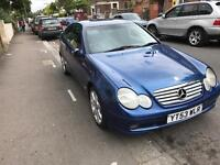 Mercedes C220cdi Automatic 128000 miles/september 2003- £1350