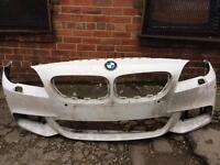 BMW 5 series M sport LCI 2014 2015 genuine front bumper for sale