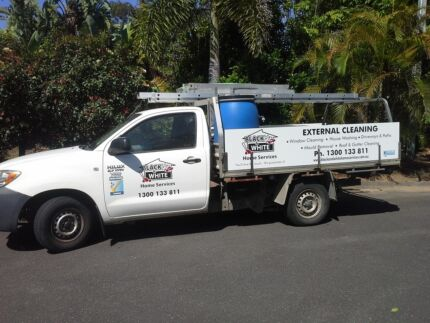 Black & White External & Window Cleaning Franchise 4 Sale Brisbane City Brisbane North West Preview