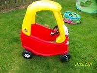 Little Tike sit in pedal car
