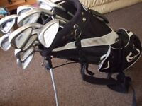 iused golf clubs and bag £20