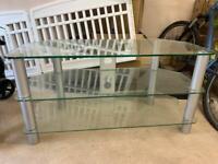 Glass TV Corner Unit Free to good home