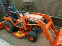 Kubota BX2200 compact tractor and loader