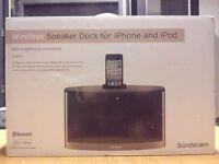 Sandstorm bluetooth speaker / iphone dock