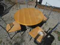 Kitchen Table and 4 Chairs - FREE to collector