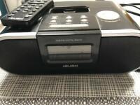 Bush DAB FM radio with remote