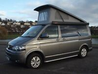 VW T5 Campervan 14 Plate Pop Top great conversion with, Fiama awning, bike rack, driveaway awning