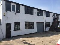 workshop/storage widow factory/garage to let 2 story buildings dry secured toilets 3 phase electric