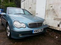 Mercedes c class 220 cdi avantguard se a (spares or repair)