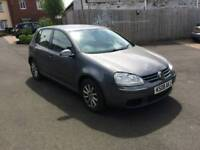Diesel 2008 Volkswagen Golf 105 bhp 5 doors with 12 months mot , very good condition, px welcome