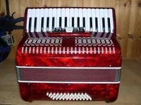 Geer4music, 48 Bass, 3 Voice, 34 Treble Keys, Piano Accordion.