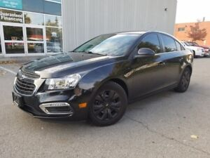 2015 Chevrolet Cruze LT 1LT CAMERA CERTIFIED NO ACCIDENTS