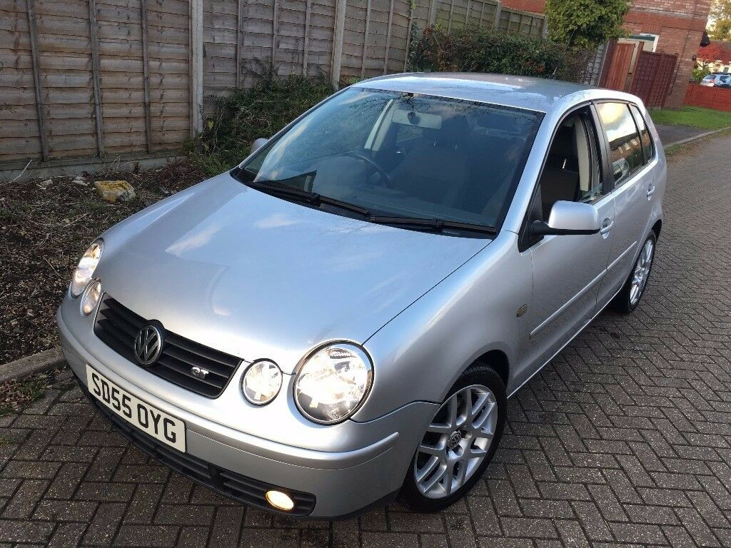 2005 volkswagen polo gt 1 9 tdi pd 130 diesel 5dr manual 1 year mot lady owned in aylesbury. Black Bedroom Furniture Sets. Home Design Ideas
