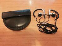 Bang & Olufsen A8 Ear-Hook Headphones - Aluminium/Black