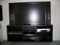 Gorgeous Karaby Black/Brown TV Storage Unit (from IKEA )