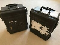 2 x Pelican 1560 flight cases