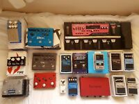 Strymon Timeline, Boss RC-300, ThorpyFX Peacekeeper, Carpe Diem, Focusrite 2i4 and loads more!