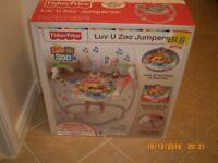 Fisher price Luv U Zoo Jumperoo