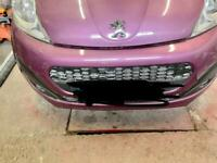 Whanted Peugeot 107 parts ns will buy car any considered