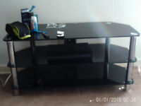 Glass tv stand £20