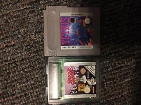 Two gameboy games