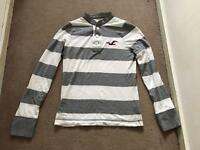 Hollister long sleeved t shirt - size small