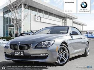 2012 BMW 6 Series 650i Technology & Premium Seating Package! Loc