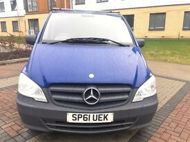 2012 MERCEDES VITO 111 CDI 6 SPEED HPI CLEAR FSH PX WELCOME