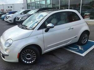 2012 Fiat 500 LOUNGE CUIR MAGS TOIT OUVRANT
