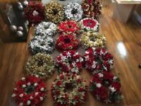 Beautiful Christmas wreaths handmade.