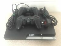 PS3 - 500GB, plus controller and cables